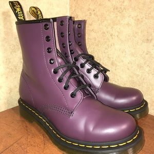 Dr. Doc Doctor Martens Air Wair 1460W Boots Size 8